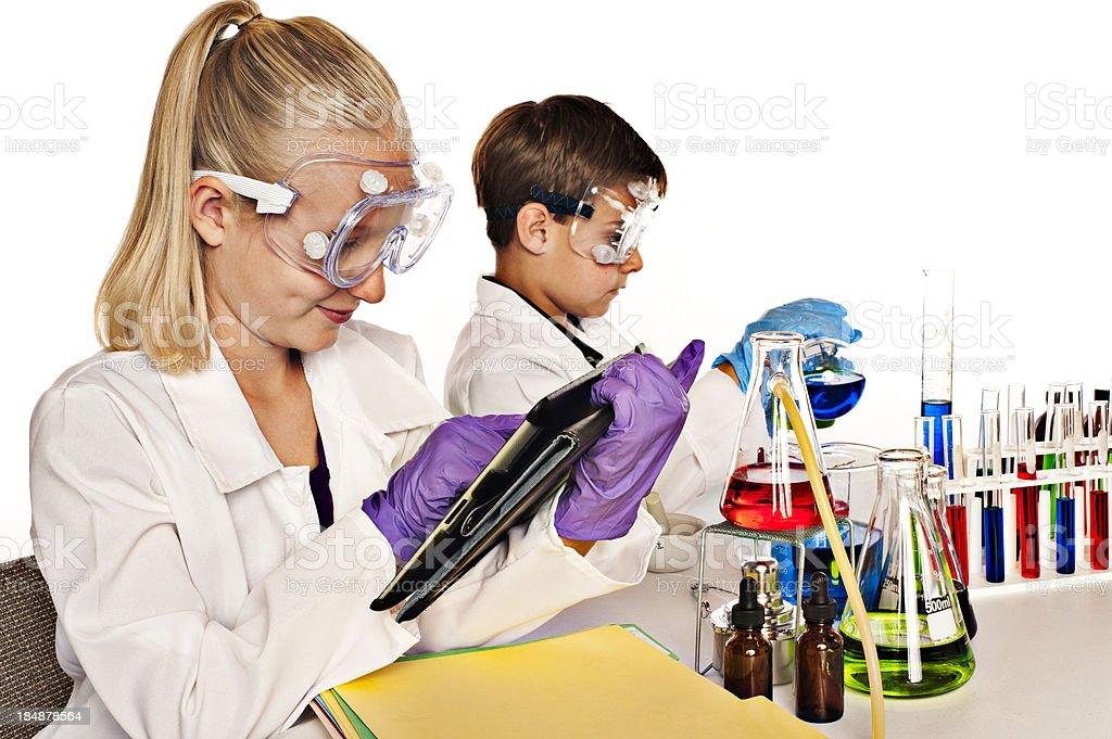 Chemistry Laboratory royalty-free stock photo