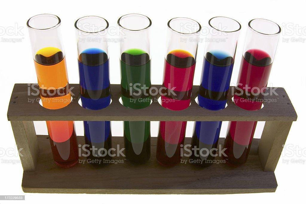 Chemistry royalty-free stock photo
