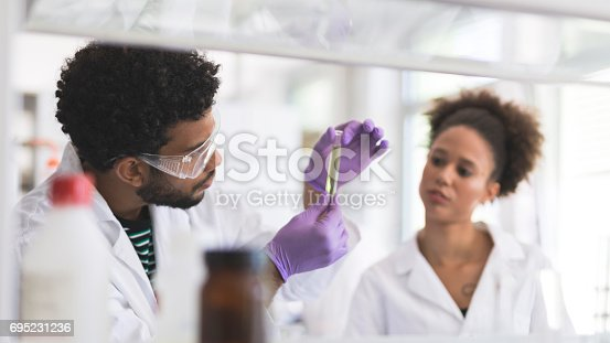 istock Chemists at work 695231236