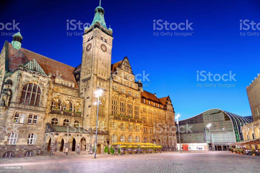 Chemnitz-Rathaus-Markt – Foto