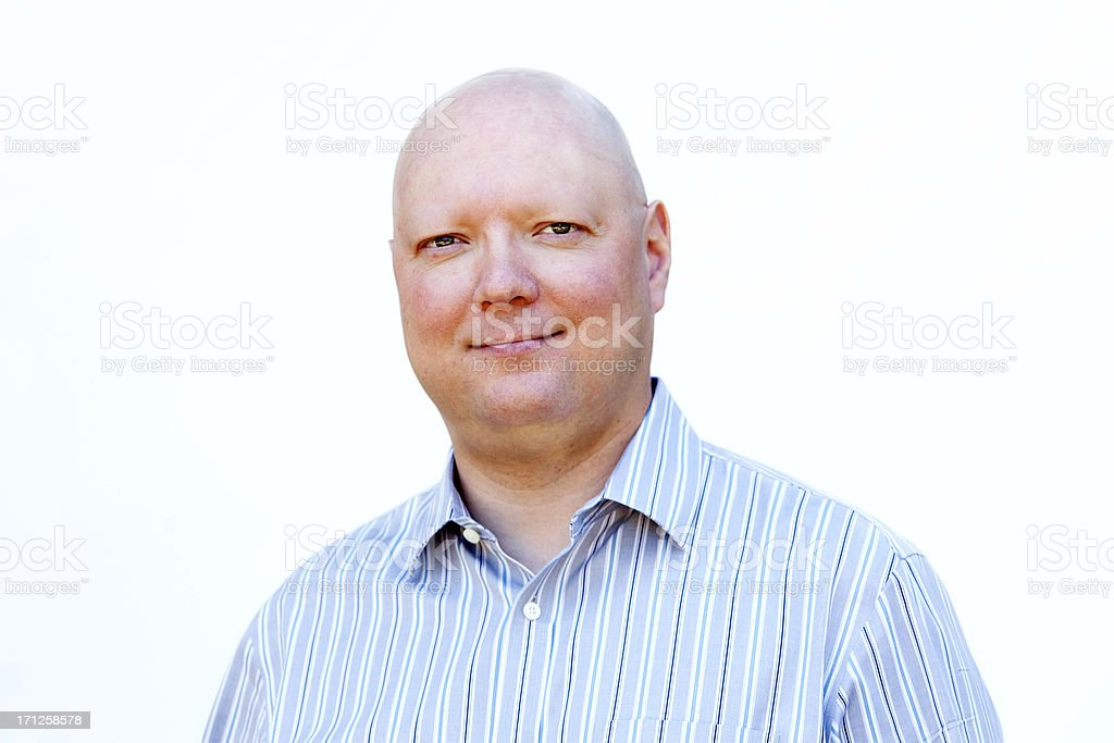 Chemo Man stock photo