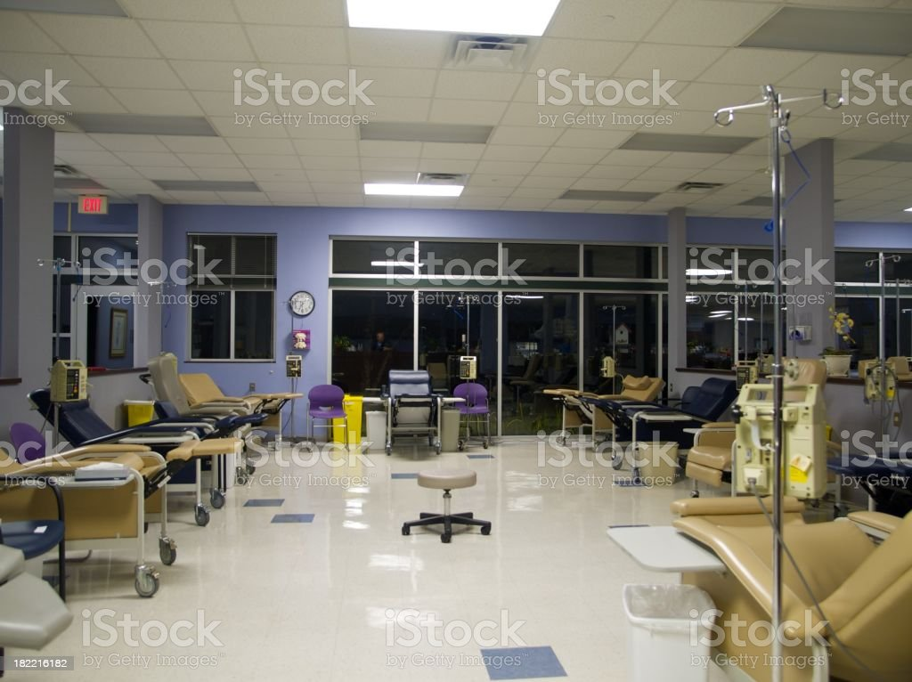 Chemo Room royalty-free stock photo