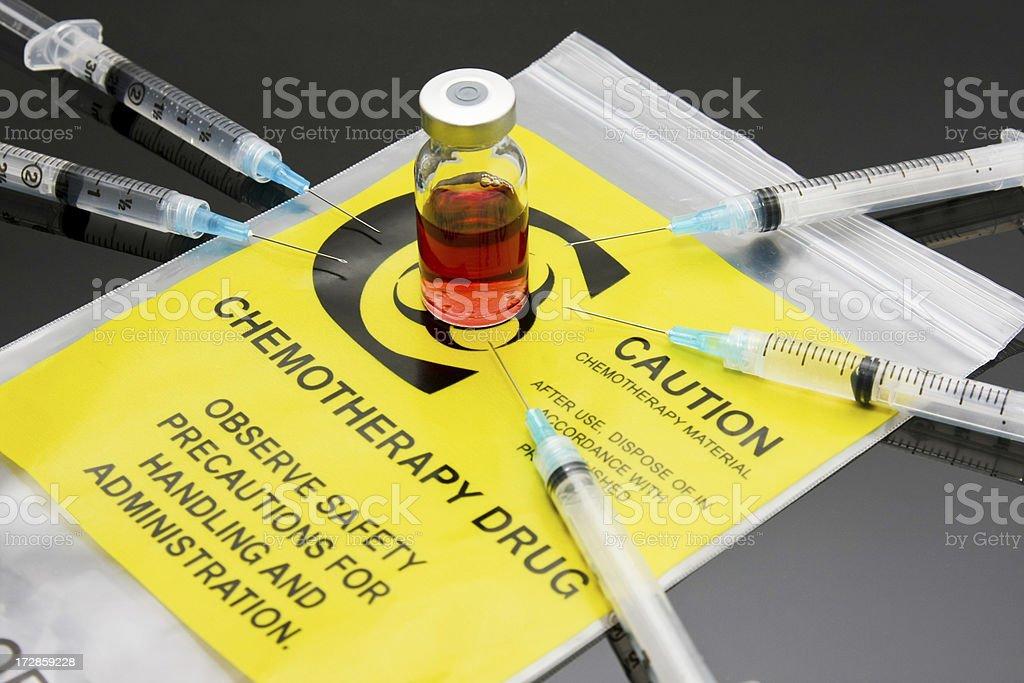 Chemotherapy drug royalty-free stock photo