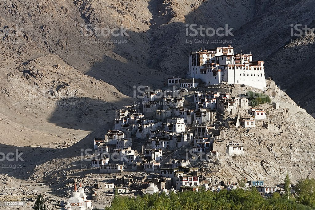 Chemrey Gompa royalty-free stock photo