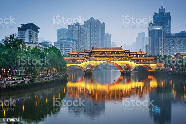 Photo of Chengdu, China On the Jin River