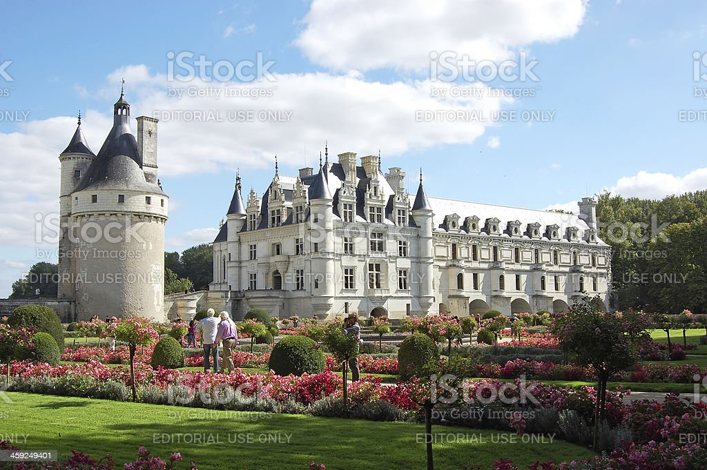Chenonceau chateau royalty-free stock photo