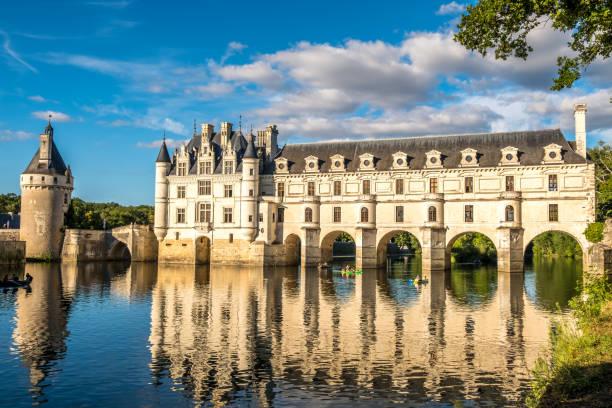 Chenonceaux Schloss im Loire-Tal, Frankreich – Foto