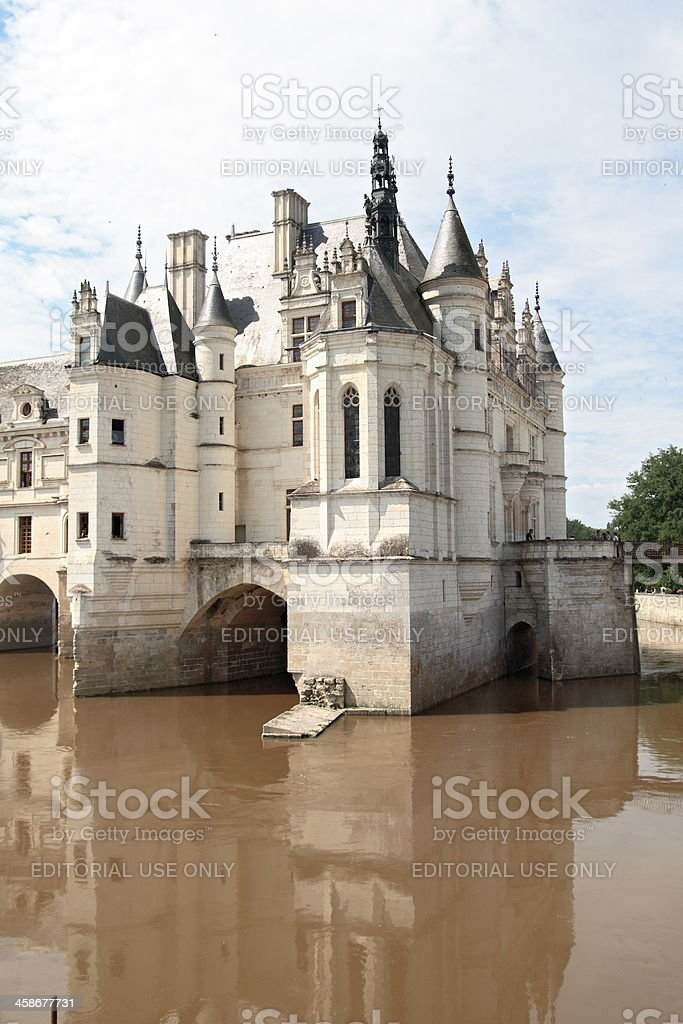 Chenonceaux Castle royalty-free stock photo
