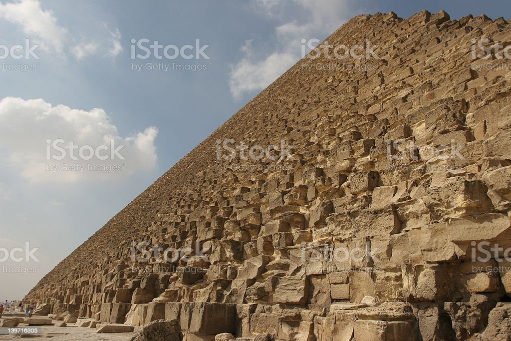 Cheops pyramid royalty-free stock photo