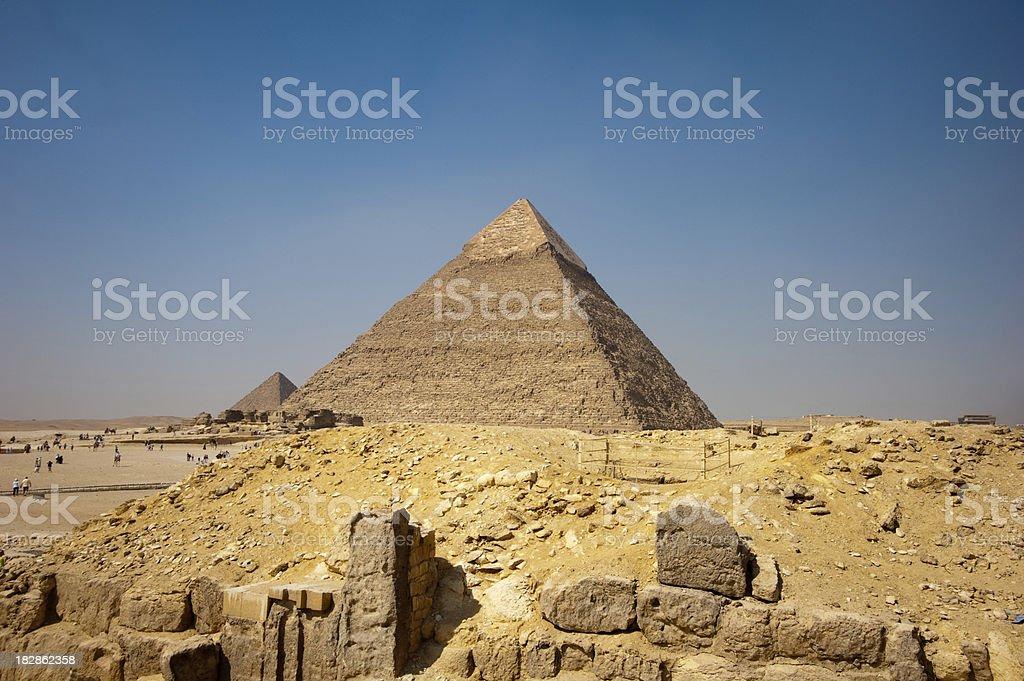 Chephren pyramid royalty-free stock photo