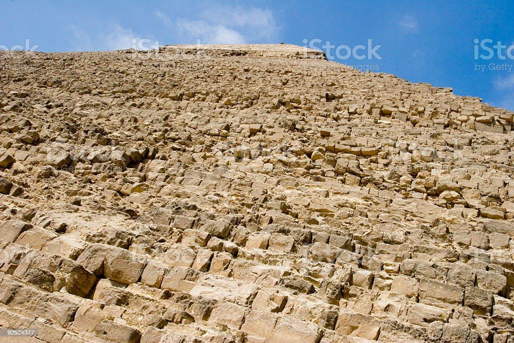 Chepren's Pyramid stock photo