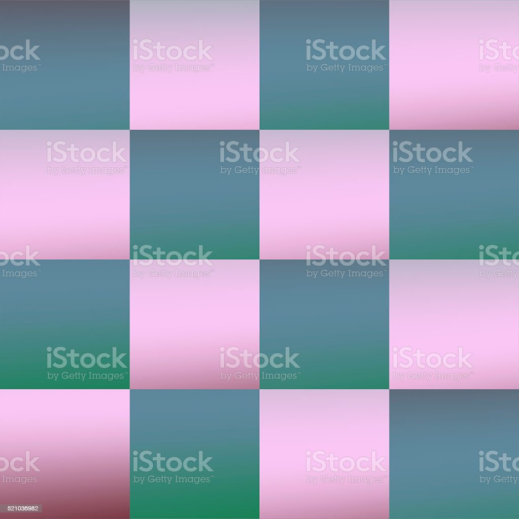 Checkerboard grid 4x4 shaded dark and light stock photo