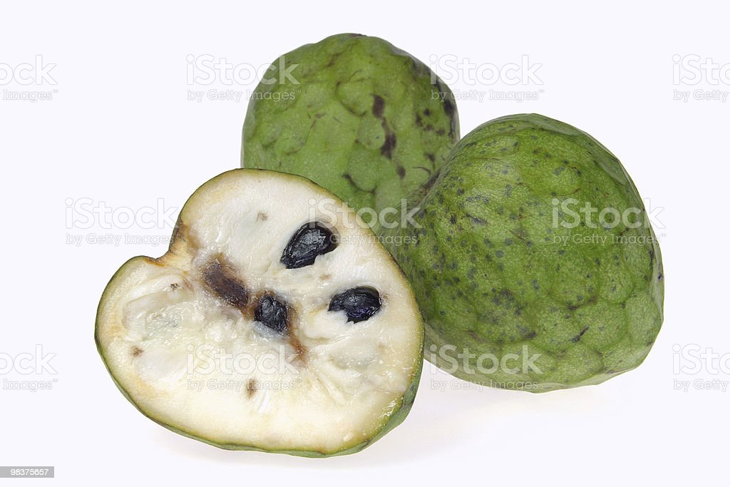 Cherimoya royalty-free stock photo