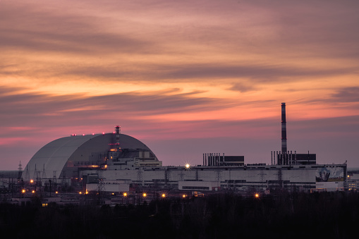 istock Chernobyl Nuclear Power Plant Sunset Panoramic 1217664600