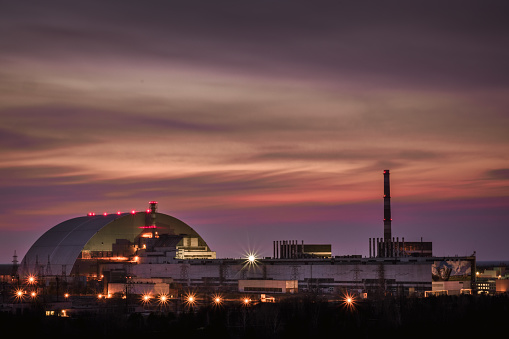 istock Chernobyl Nuclear Power Plant Sunset 1217664601