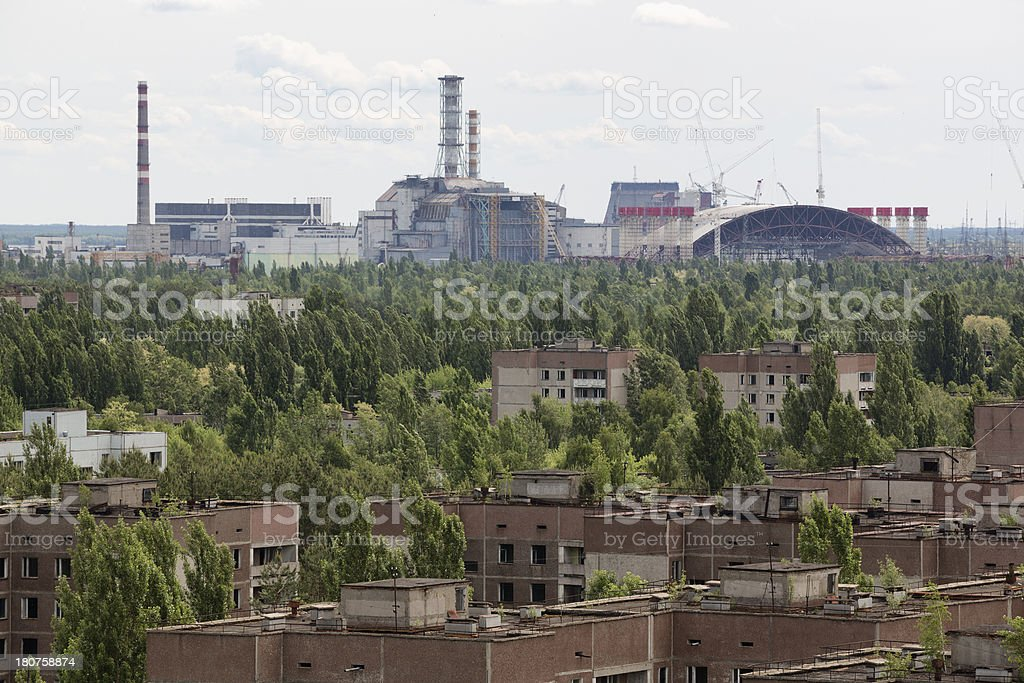 Chernobyl Nuclear Power Plant, Ukraine stock photo