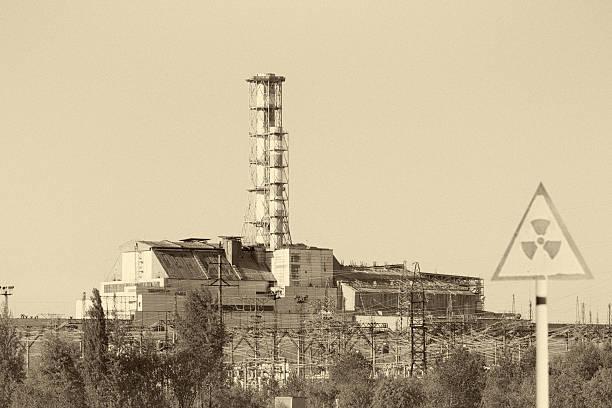 reattore nucleare di chernobyl 4 - reattore nucleare foto e immagini stock