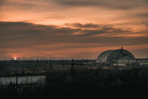 istock Chernobyl Sunset 1217664603