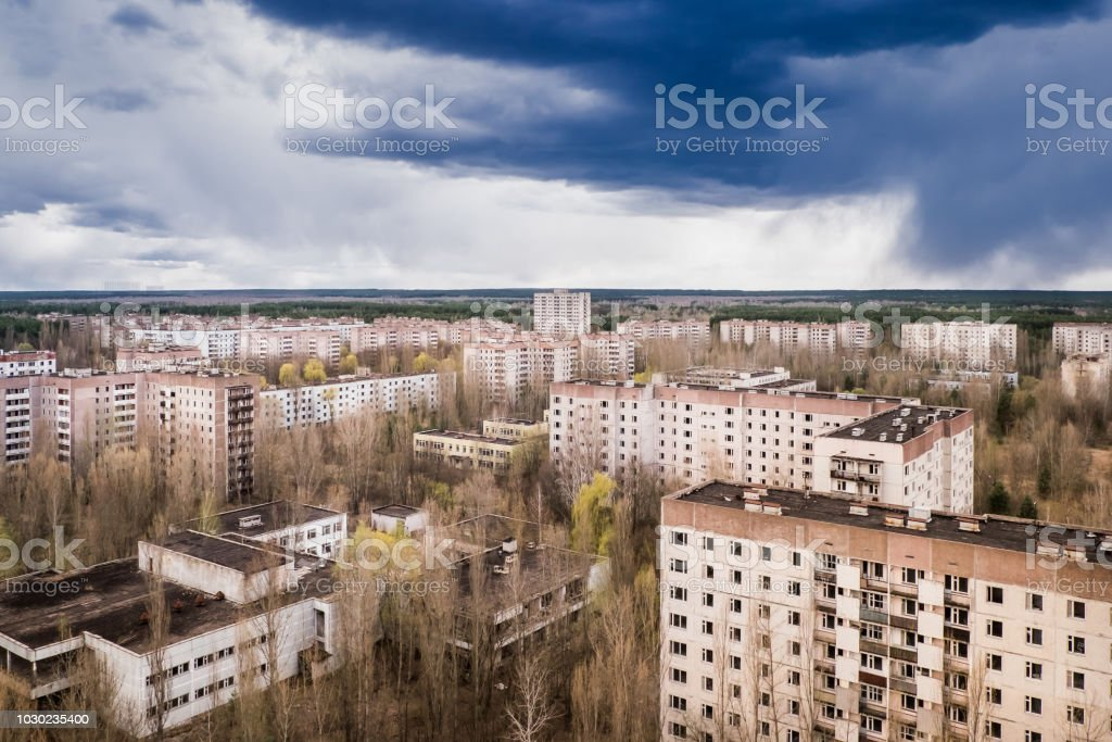 Chernobyl Zone Ghost City Pripyat Stock Photo - Download Image Now