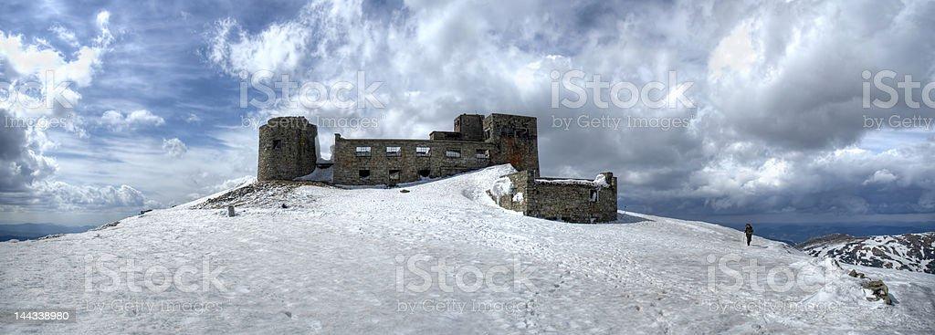 Chernogora mountain royalty-free stock photo