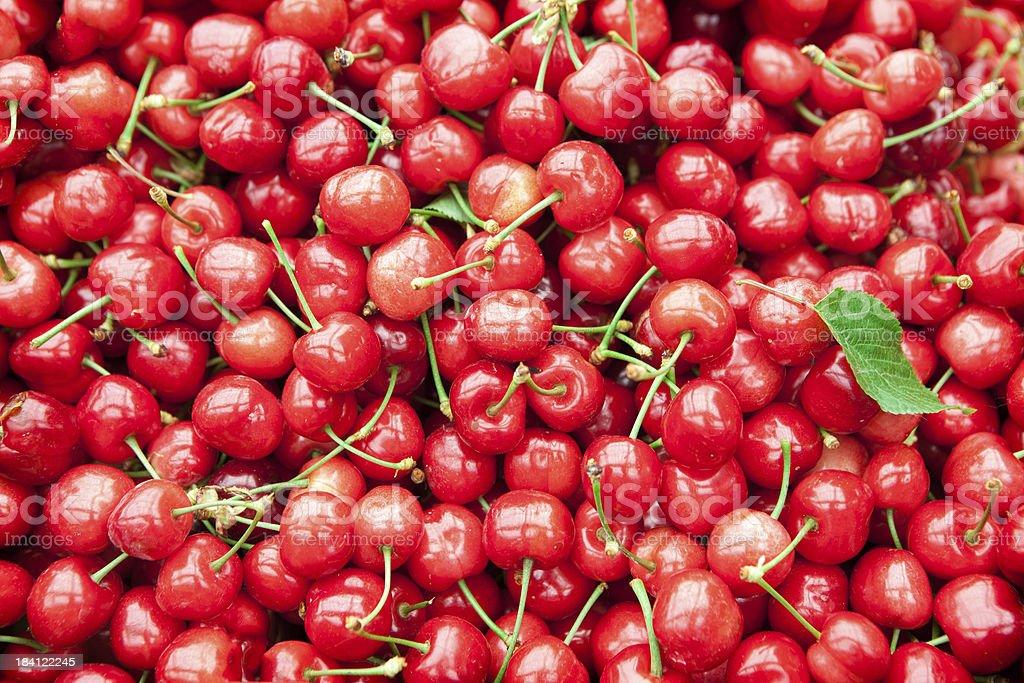 Cherries royalty-free stock photo