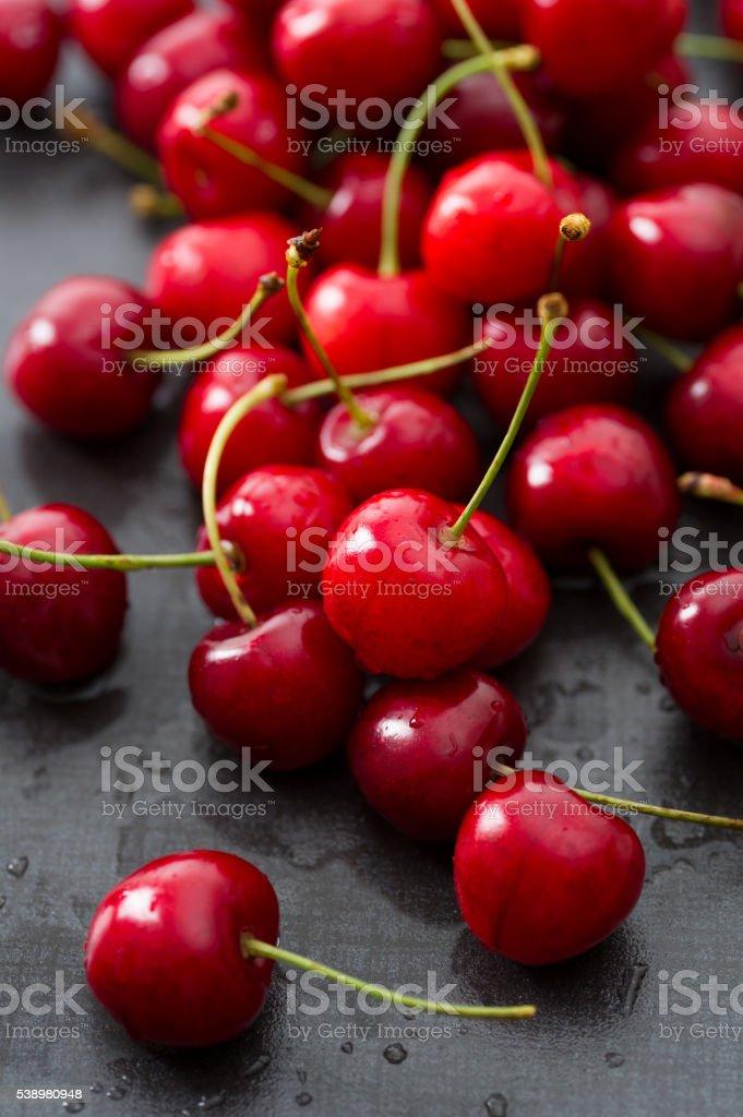 Cherries bildbanksfoto