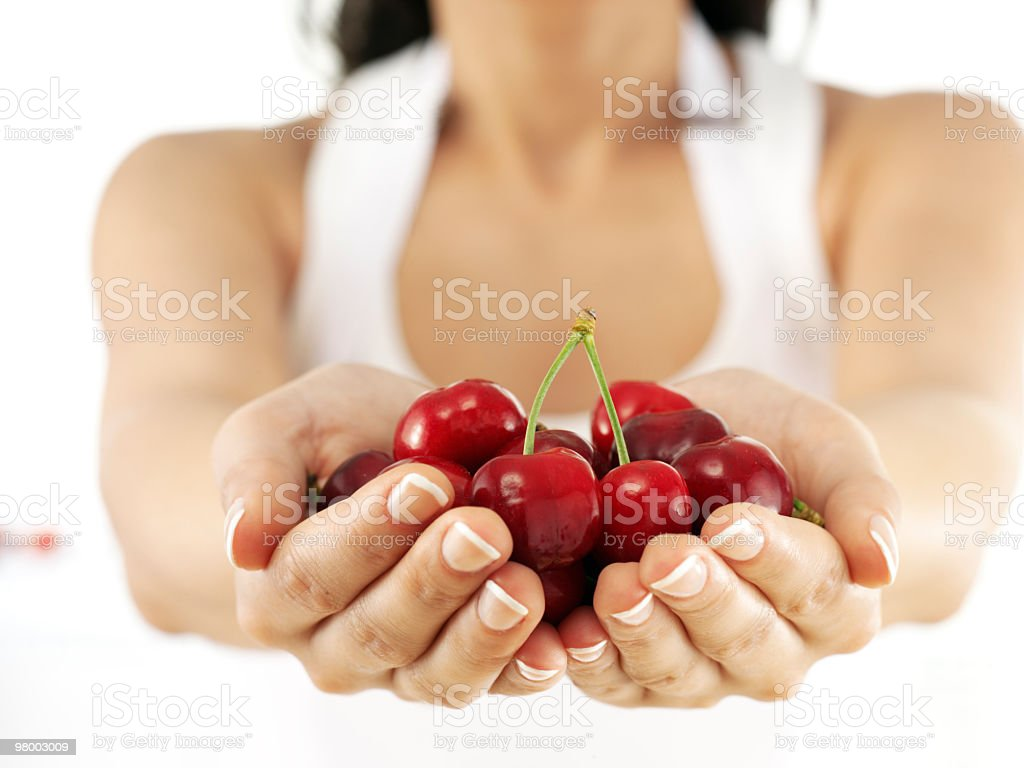 Cherries royalty-free stock photo