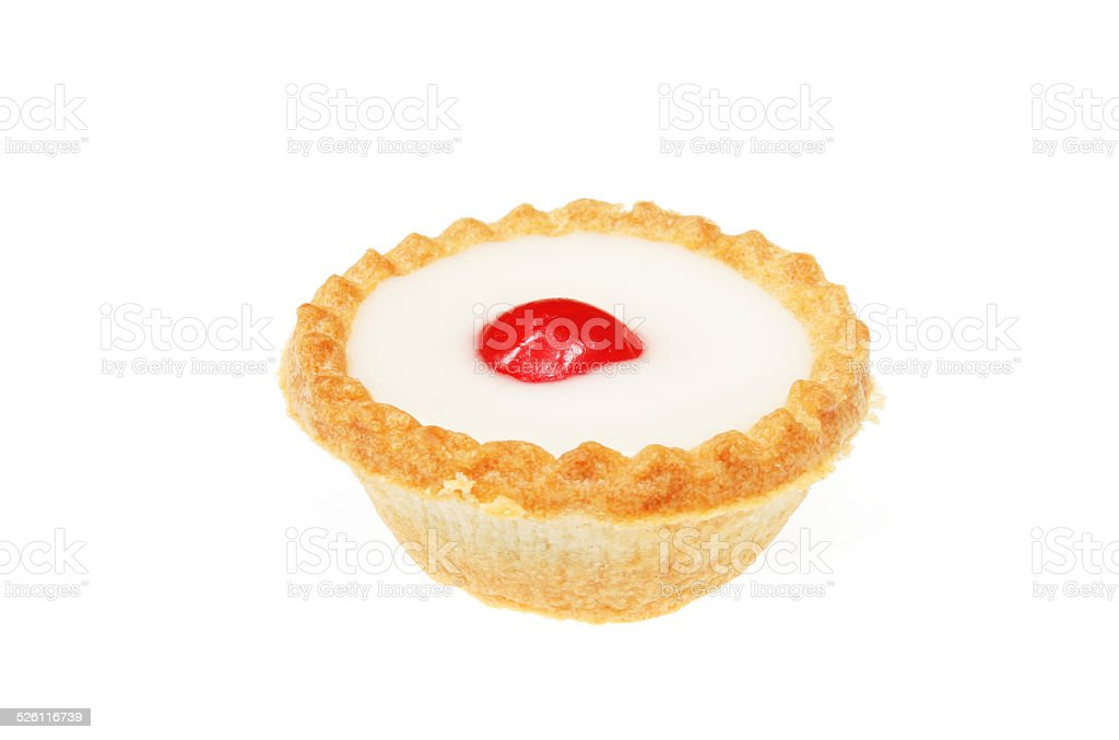 Cherry Bakewell stock photo