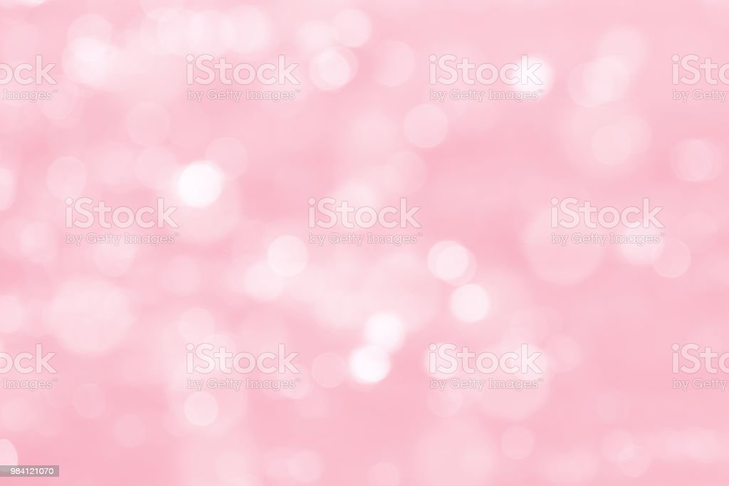 Cherry Blossom pink bokeh stock photo
