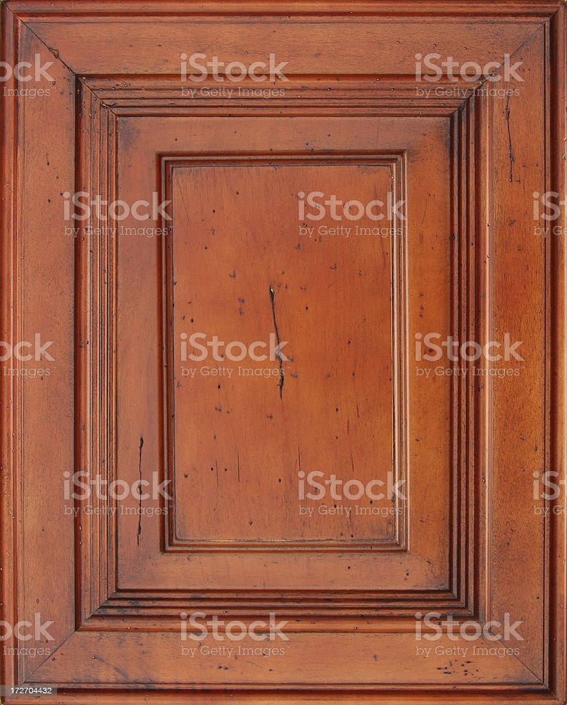 cherry Cabinet Door Frame stock photo