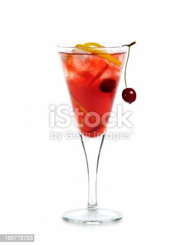 Cherry cocktail.
