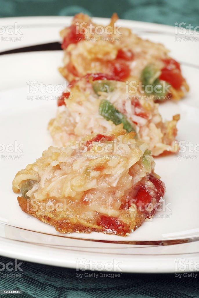 Kirsche-cookies Lizenzfreies stock-foto