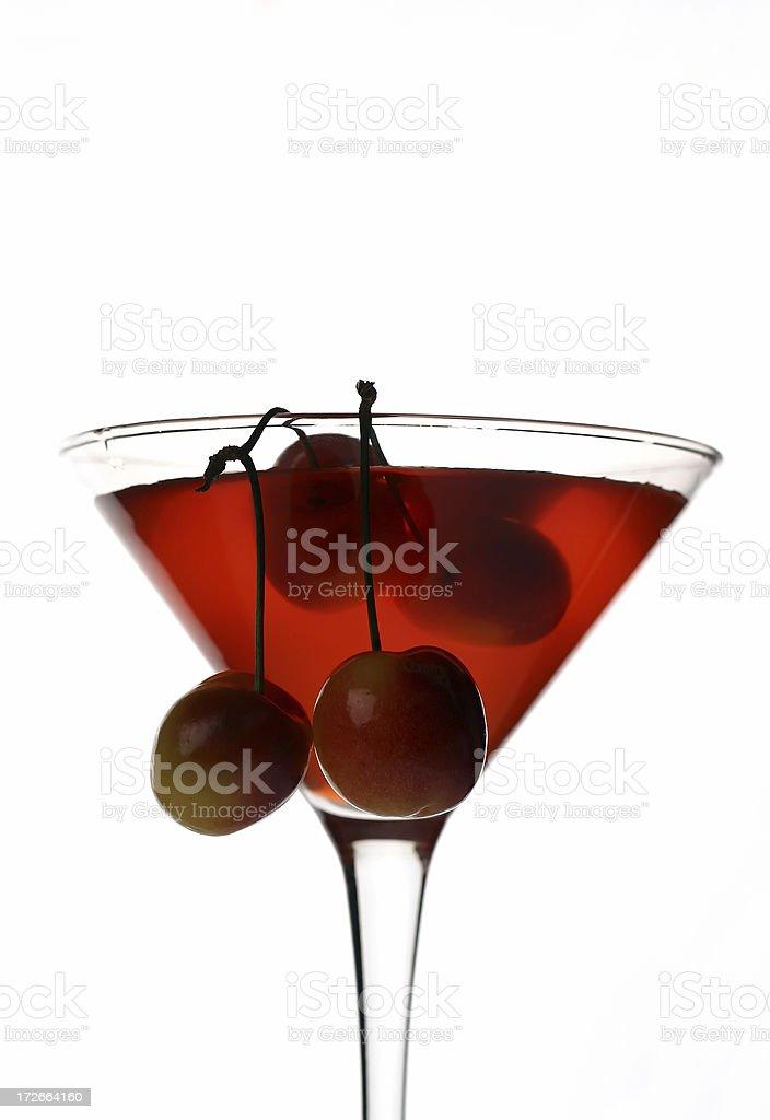Cherry Cosmo: Closeup royalty-free stock photo