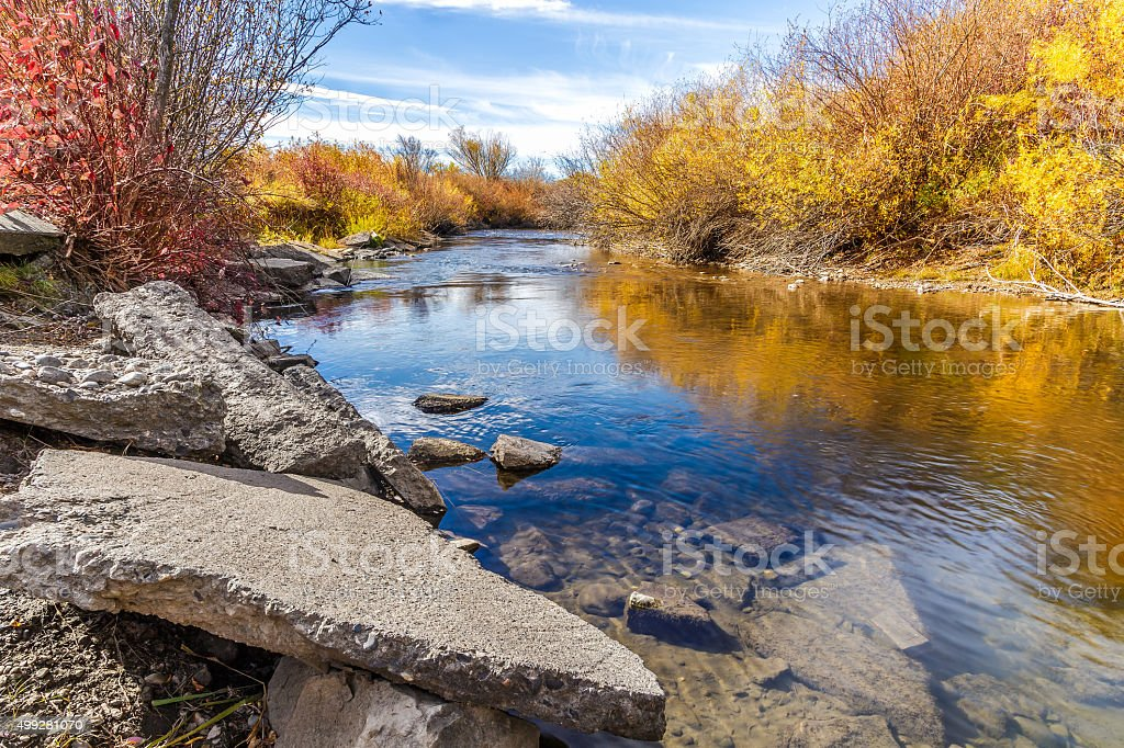 Cherry Creek Preserve stock photo
