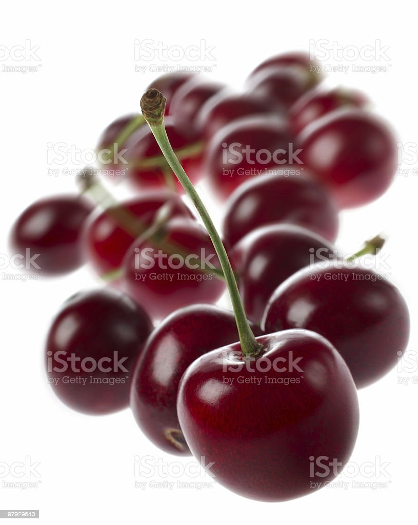 Cherry group royalty-free stock photo