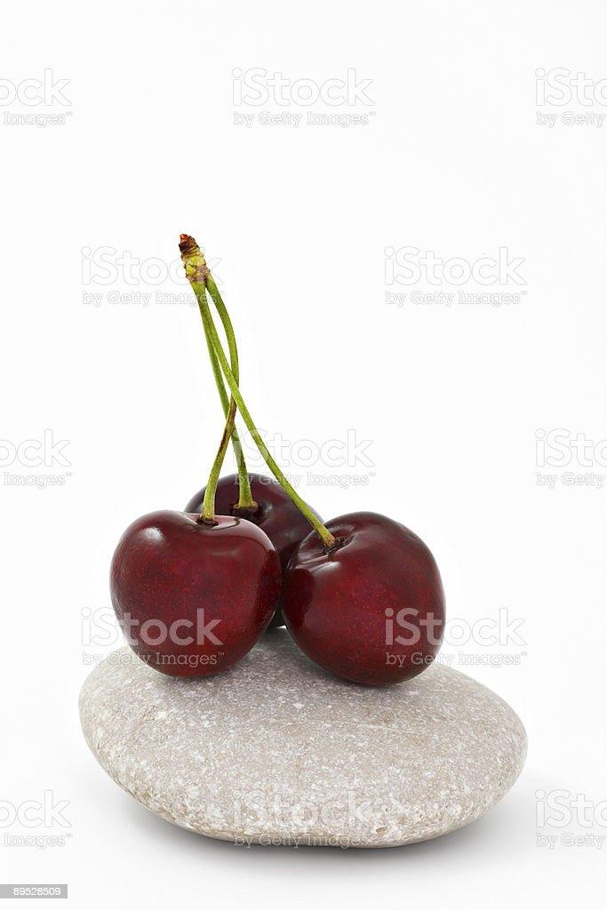 Cherry like zen royalty-free stock photo