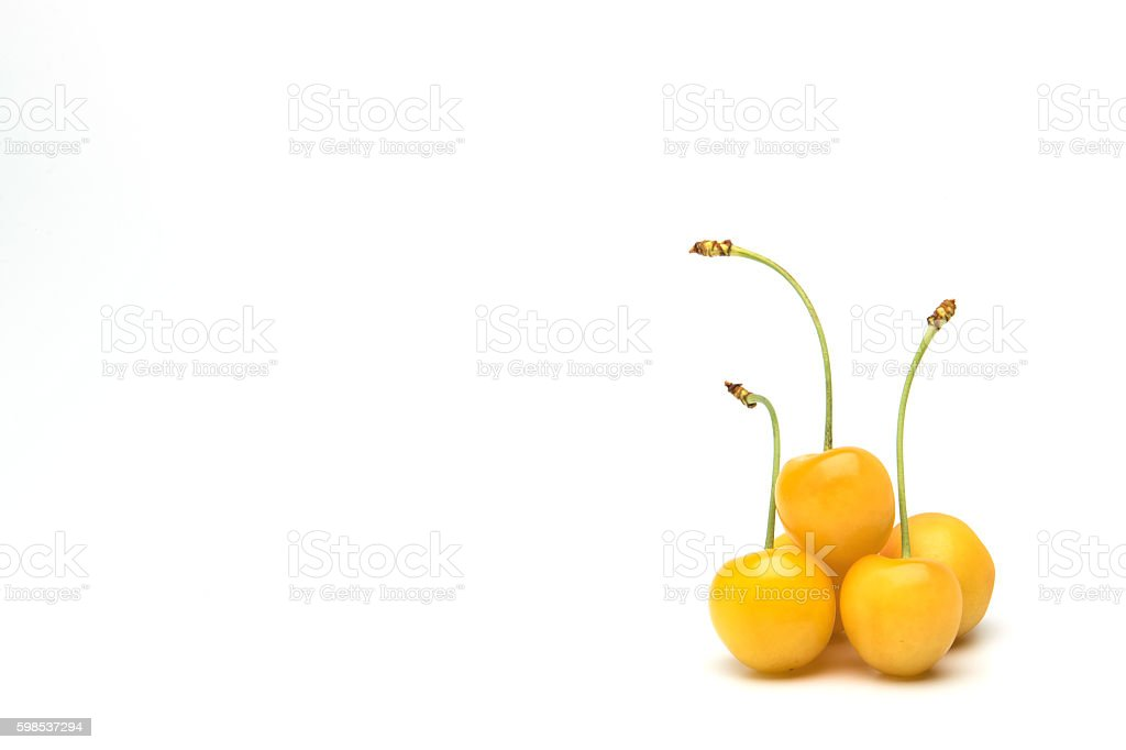 Cherry (Yellow Cherry) photo libre de droits