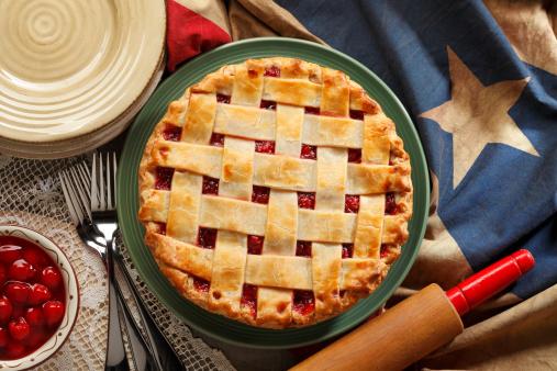 Cherry Pie Stock Photo - Download Image Now