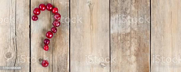 Cherry question symbol on a wooden rustic background picture id1254499048?b=1&k=6&m=1254499048&s=612x612&h=7vx6 ntdg8xgrrn8f 3mesjjbtt0fw4oujkogabifsw=