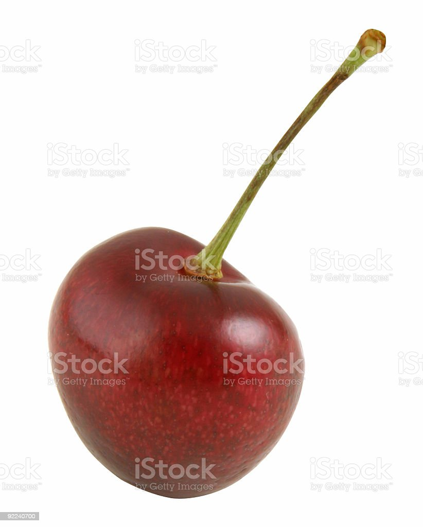 Cherry Silo stock photo