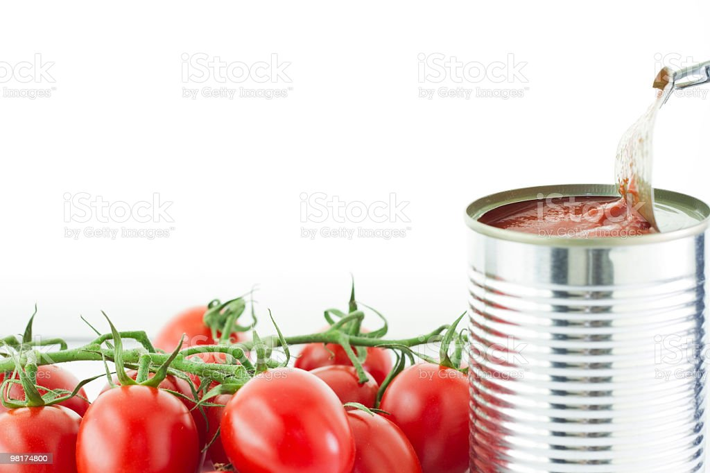 cherry tomato macro royalty-free stock photo