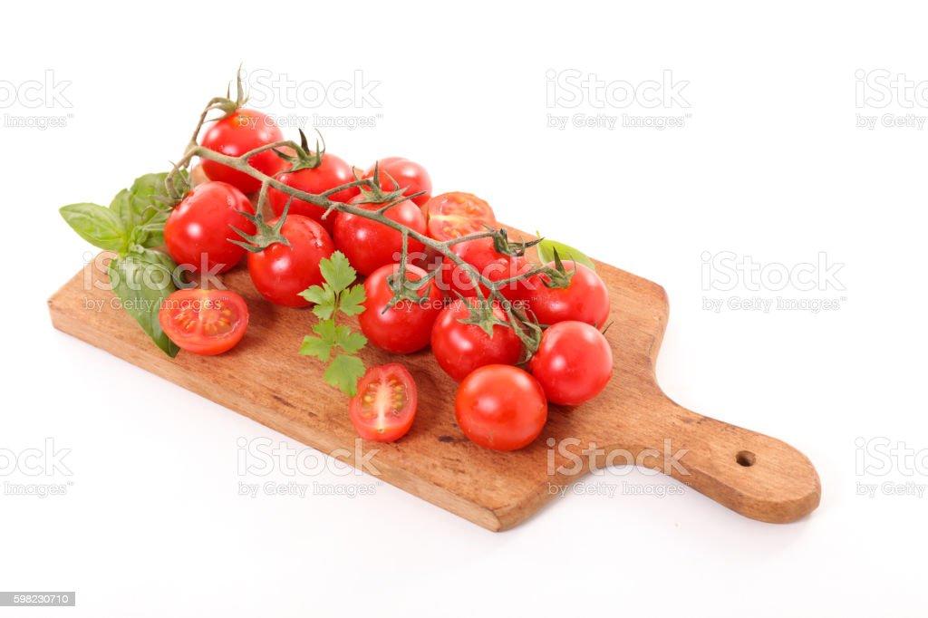 Tomate cereja foto royalty-free