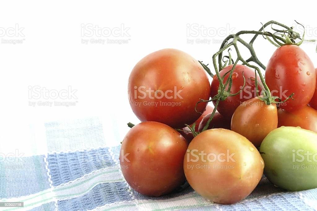 cherry tomato royalty-free stock photo
