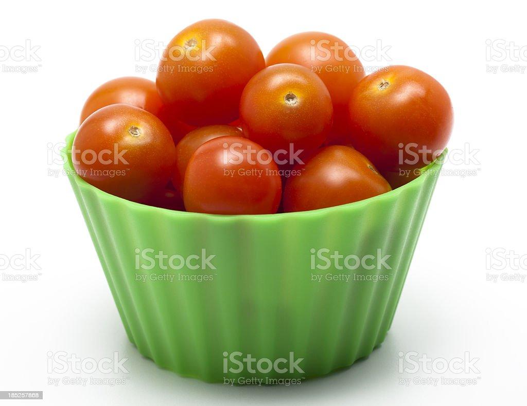 Cherry Tomato Snack stock photo