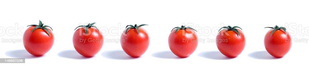 cherry tomatoes 360 royalty-free stock photo