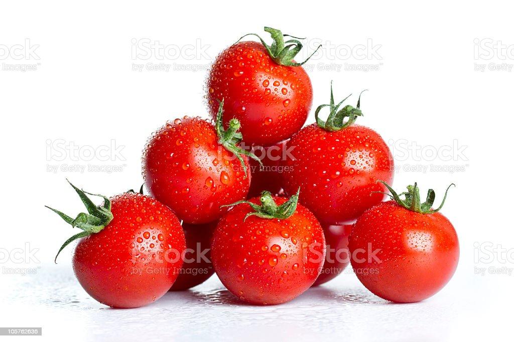 cherry tomatoes pyramid royalty-free stock photo