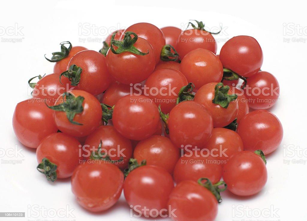 Cherry Tomatos royalty-free stock photo