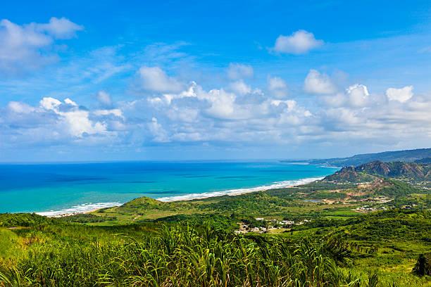 Cherry Tree Hill, Barbados stock photo