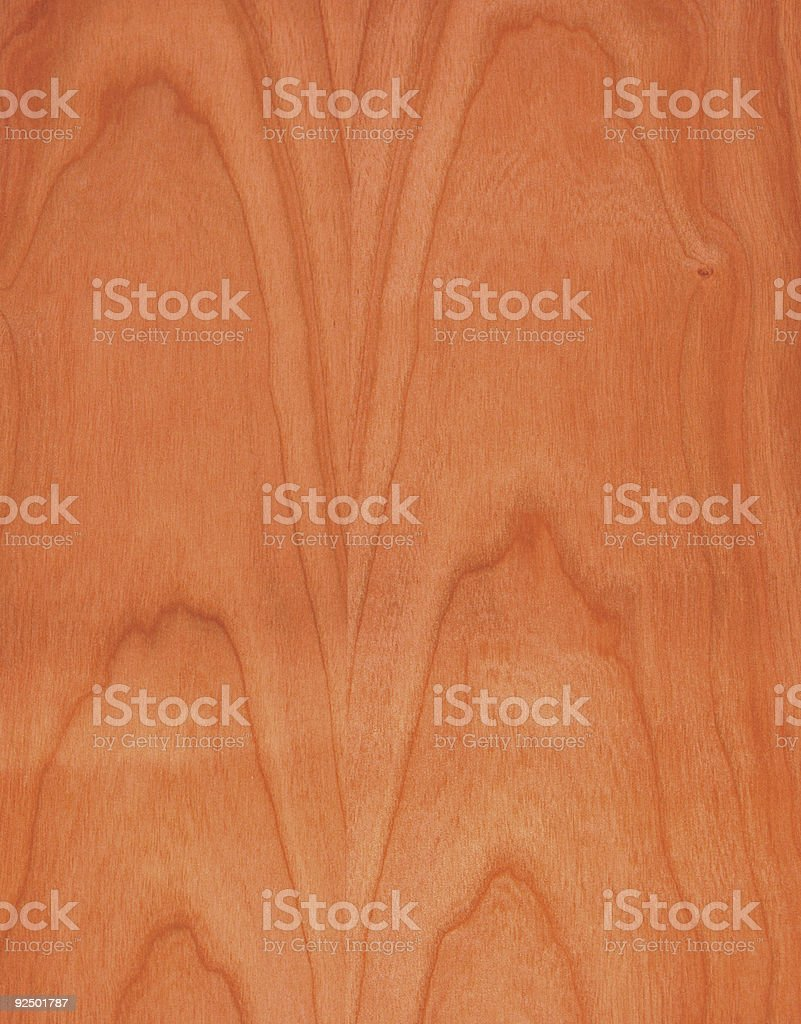 cherry wood royalty-free stock photo