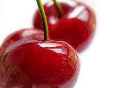 Cherrys in white